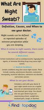 night sweats causes diagnosis and