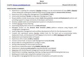 Remarkable Devops Resume 70 On Resume Download with Devops Resume