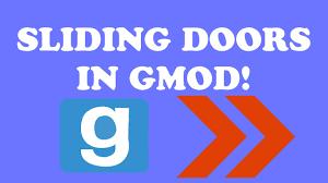 sliding doors in gmod wiremod tutorial 2017