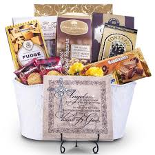 the heart never forgets sympathy chocolate gift basket