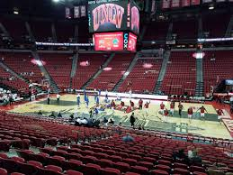 Thomas And Mack Center Seating Chart Thomas And Mack Center Section 105 Rateyourseats Com