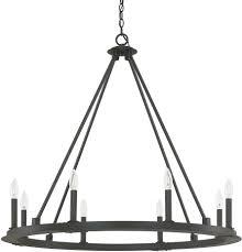 outdoor graceful capital lighting chandeliers 8 4918bi 000 pearson modern black iron chandelier 6 graceful capital