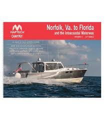 Icw Navigation Charts Norfolk Va To Florida And The Intracoastal Waterway 14th Ed 2018