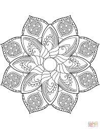 La Scelta Migliore Mandala Fiori Da Colorare Disegni Da Colorare