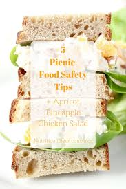 best ideas about food safety tips food safety apricot pineapple chicken salad