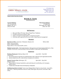 Cv Template Cambridge Academic Example Of Resume 1 Peppapp