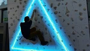 on artificial rock climbing wall cost with augmented climbing puts video games on an indoor rockclimbing wall