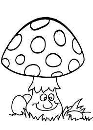 30 Disegni Di Funghi Da Colorare Lavoretti Per Bambini Disegnare