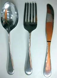 large spoon and fork wall decor spoon and fork wall decor target large spoon and fork