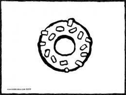 Kleurplaat Donut Tropicalweather