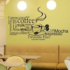 Small Picture Aliexpresscom Buy Car Decal Milk tea Coffee Shop Cafes Ice