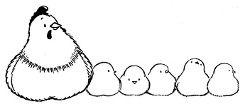 Small Picture Farm Animal Coloring Pages Hen And Chicks Animal Coloring pages