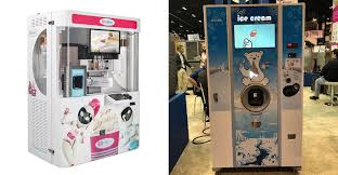 Froyo Vending Machine Beauteous Tech Tracker Robots Automation Dominate At NRA Food Show