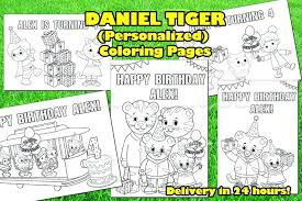 Daniel Tiger Coloring Page Coloring Book Tiger S Neighborhood Pages