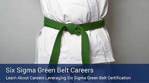 Which Careers Utilize Lean Six Sigma Green Belt Certification