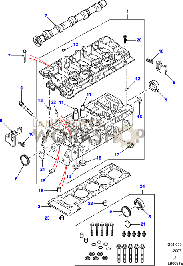 td diagrams land rover workshop cylinder head part diagram