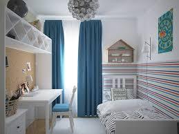 Kids Room Design: Blue Curtains - Childrens Room Design Ideas