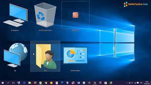 Windows Masaüstü Simge - İcon Boyutlarını Değiştirmek - YouTube