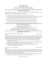 Restaurant Server Resume Sample Monster Regarding Resume Sample S