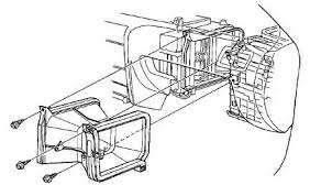 honda accord how to replace blower motor assembly honda tech 1997 Honda Accord Ex Fuse Box Diagram step 3 remove heater duct 1997 honda accord fuse box diagram