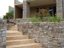 cotswold wall cladding retaining wall with pillars