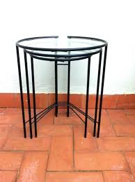 round glass nesting coffee tables table west elm bedside ion ta