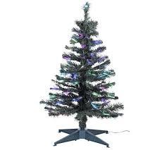 Valuable 4 Ft Fiber Optic Christmas Tree Exquisite Design 4ft 5ft Black Fiber Optic Christmas Tree