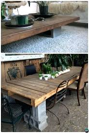 diy standing desk cinder block. Unique Desk Cinderblock Desk Cinder Block Coffee Table Concrete Furniture  Projects Standing Diy And Diy Standing Desk Cinder Block