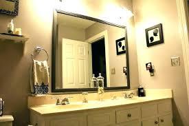 target mirror frame