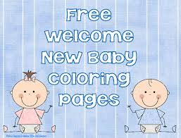 Also you can google+ us and you will see fresh post from us in. New Baby Coloring Pages Free Printable