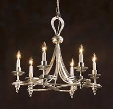 Silver Leaf Decoration Luxury Silver Leaf Chandelier Lighting Design By Decorativecrafts