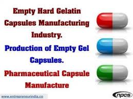 Empty Hard Gelatin Capsules Manufacturing Industry Niir Blog