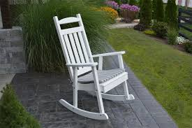 classic poly porch rocker from dutchcrafters amish furniture