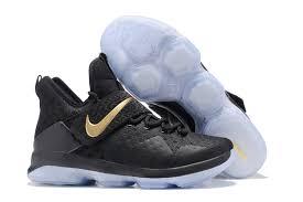 lebron xiv ghost. mens on feet nike lebron xiv ep black gold basketball sneakers xiv ghost