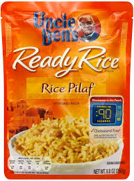 uncle bens rice pilaf with orzo pasta ready rice pouch 8 8 oz nutrition information innit