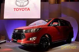 the new toyota innova released last year