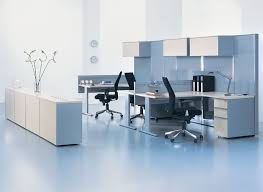 office blue. Nice Blue Nuance Of The Modern Black Office Architecture That Can Has White Concrete Walll Be