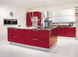 Red Kitchen Decor Amazing Red Kitchen Design With Single Sink Kitchen Dickorleanscom