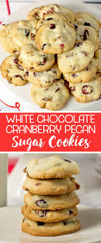 these white chocolate cranberry pecan cookies may be the easiest and most delicious cookies you make