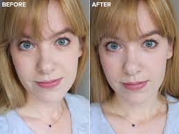 before and after brightening my eye area