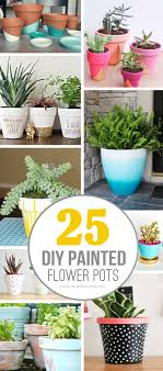 Different Designs Of Flower Pots 25 Diy Painted Flower Pot Ideas Youll Love Painted Flower