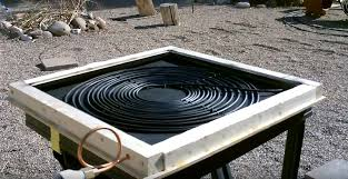 easy diy solar water heater for free hot water