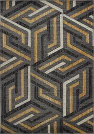 grey gold area rug