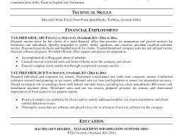 Tax Preparer Resume Samples Sample Resume For Tax Preparer Resume Central With Entry Level Tax