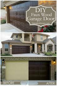 diy faux wood garage doors. Brilliant Faux Wood Garage Door The Best Diy Ideas On Pinterest DIY Doors