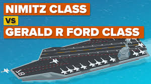 Nimitz Class Vs Gerald R Ford Class How Do The Aircraft Carriers Compare