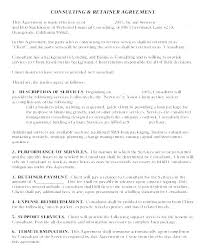 retainer consulting agreement insurance consulting agreement template sample consulting
