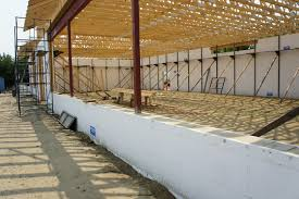 LiteForm Insulating Concrete Forms - Insulating block walls exterior