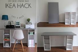 kids desk.  Desk DIY Desk Designs You Can Customize To Suit Your Style  Bedroom Ideas  Pinterest Desks Hacks And Ikea Desk In Kids L