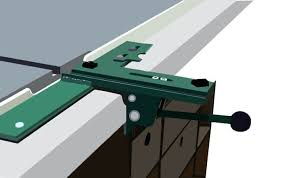 tablesaw fence while it was a simple layout and not the best work he has done